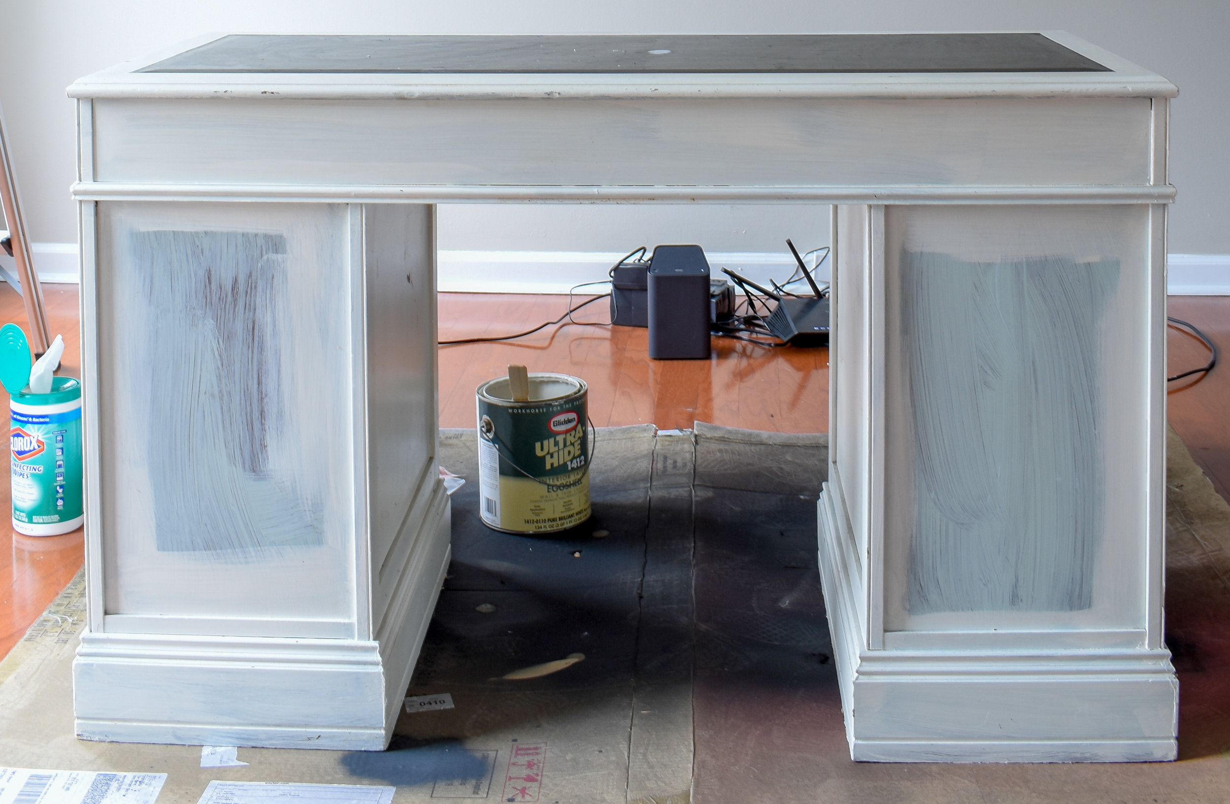 refinishing furniture for a factory look