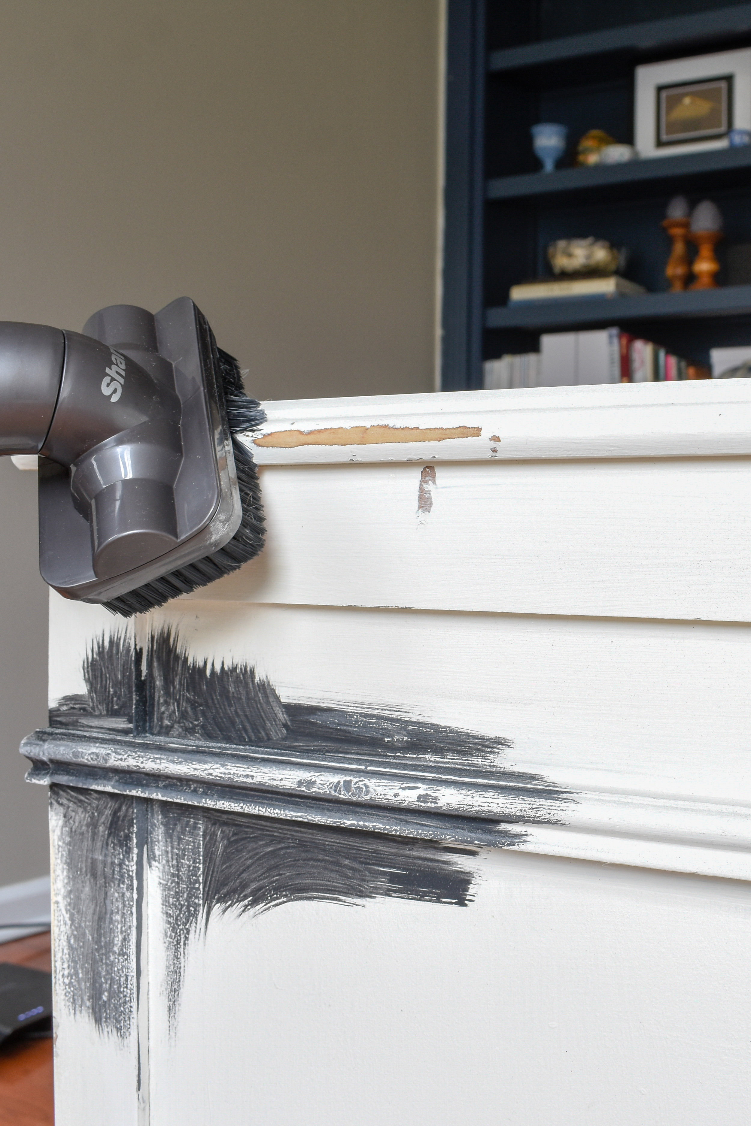 preparing wood furniture for new paint