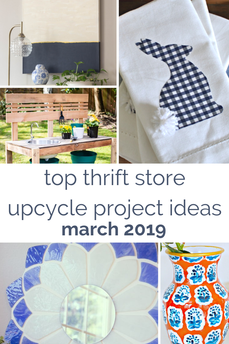 thrift store home decor project ideas
