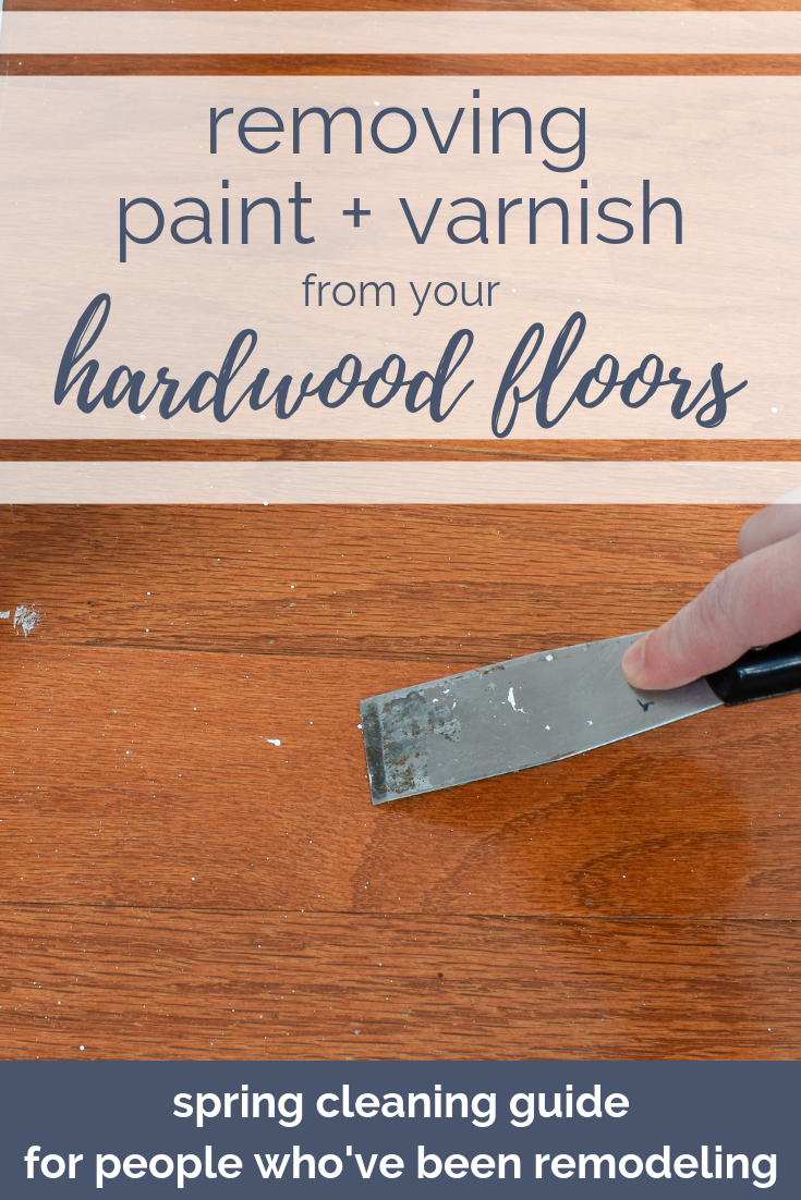 Engineered Hardwood Flooring Maintenance and Repair: From water damage to removing dried-on spilled varnish and paint, here's your guide to getting your hardwoods gleaming again! Plus, a recipe for a natural hardwood cleaner that won't ruin your floor's finish. #springcleaning #hardwoodflooring #naturalcleaning