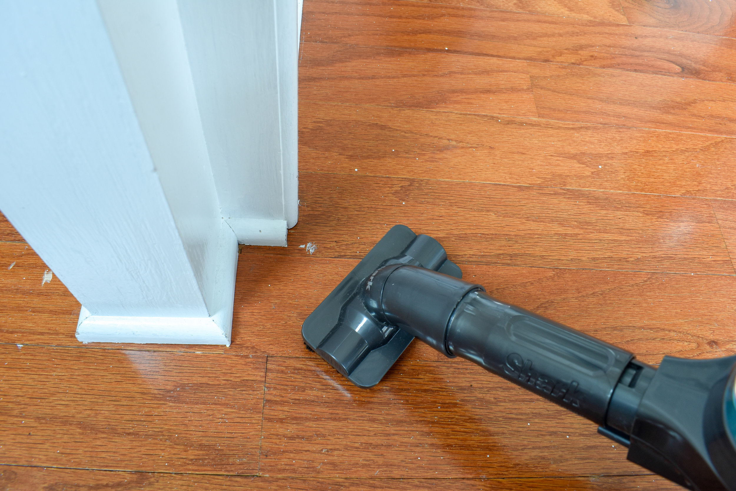 HOW TO REMOVE DRIED PAINT FROM HARDWOOD FLOORS - full tutorial