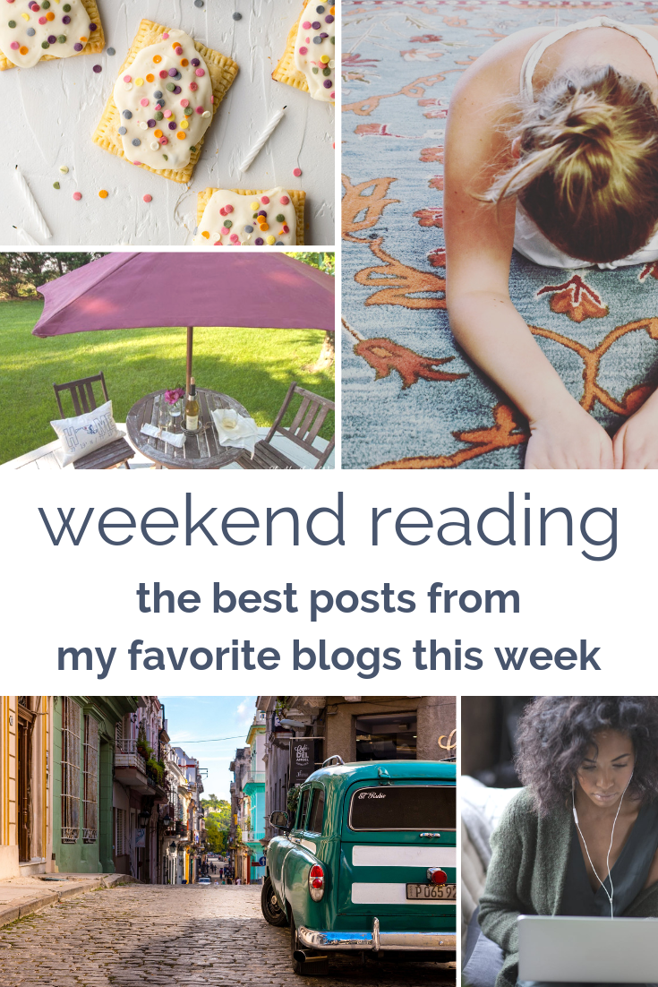 weekend reading - the best posts from my favorite blogs this week