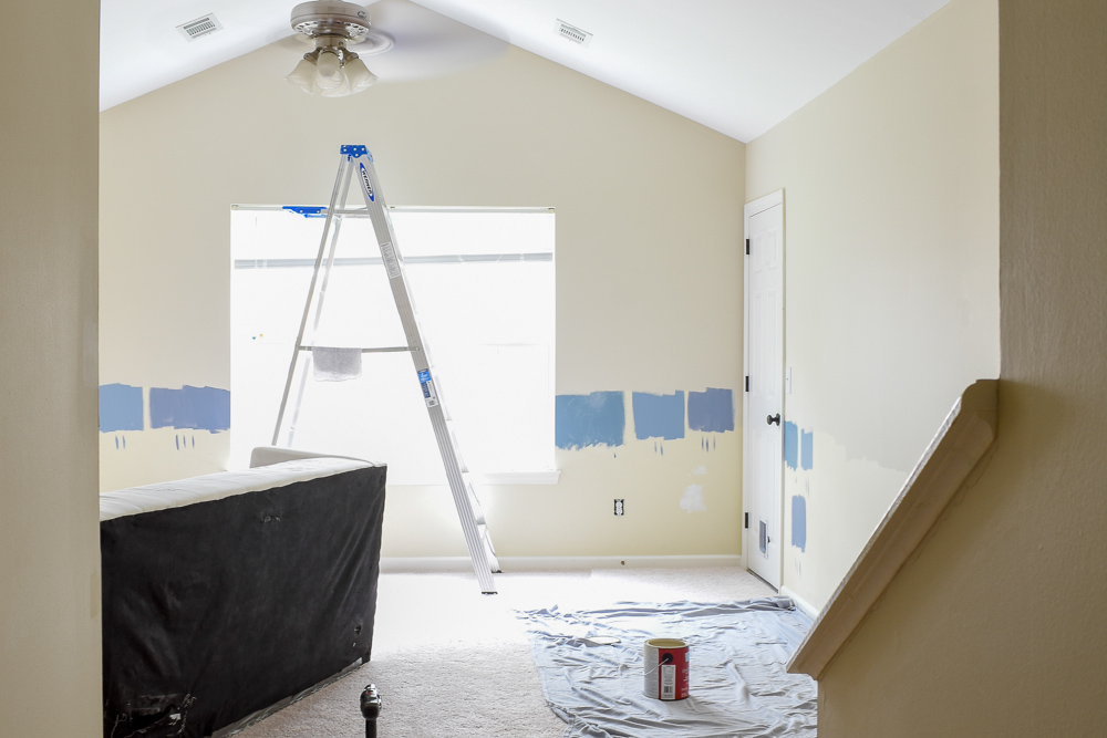 Choose The Right Paint Color For Your Room: A brief guide to getting it right the first time.  #paintcolortips #colortheory #diypainting