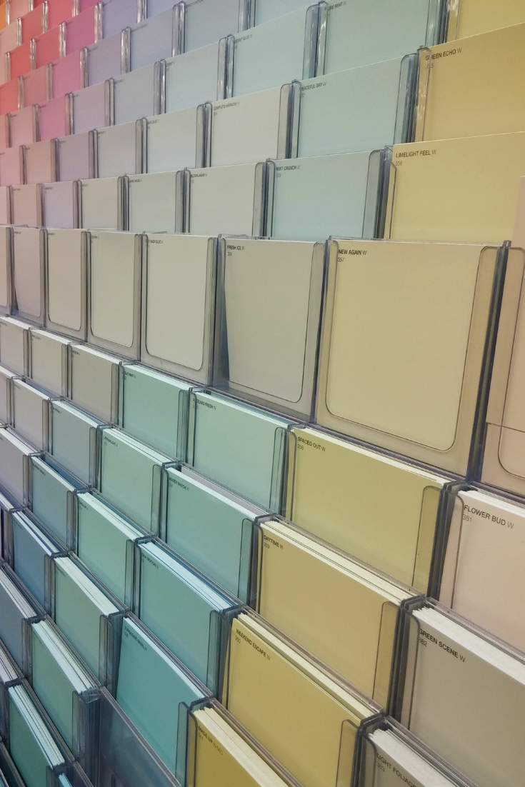 Ready to paint? Read this first. A professional decorator and home renovator gives the scoop on how to make sure the color you like in the store is going to look just as good on your walls. #painttips #diydecorating #howtochoosepaint