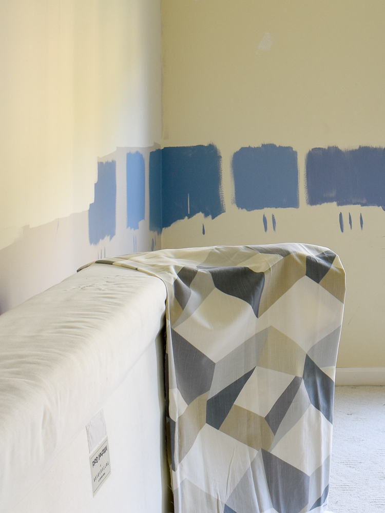 Choosing the right paint color: Ddetermine what pieces will be in the space before you make a final decision about paint. The stand back and take a look at how each sample vibes with your decor.