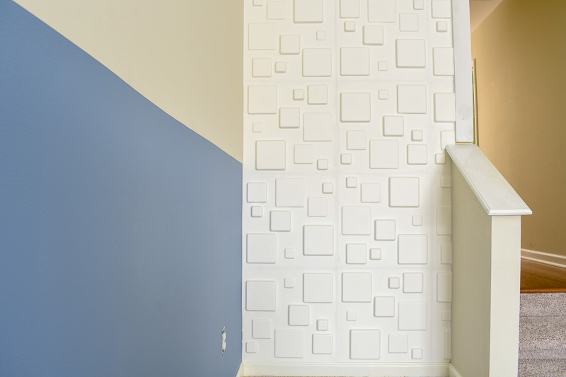Accent Wall Tutorial For Color Blocking 3d Wall Panels