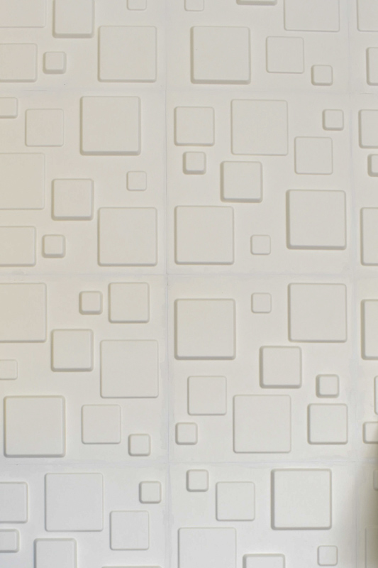 3D wall panels - an easy alternative to dimensional wallpaper