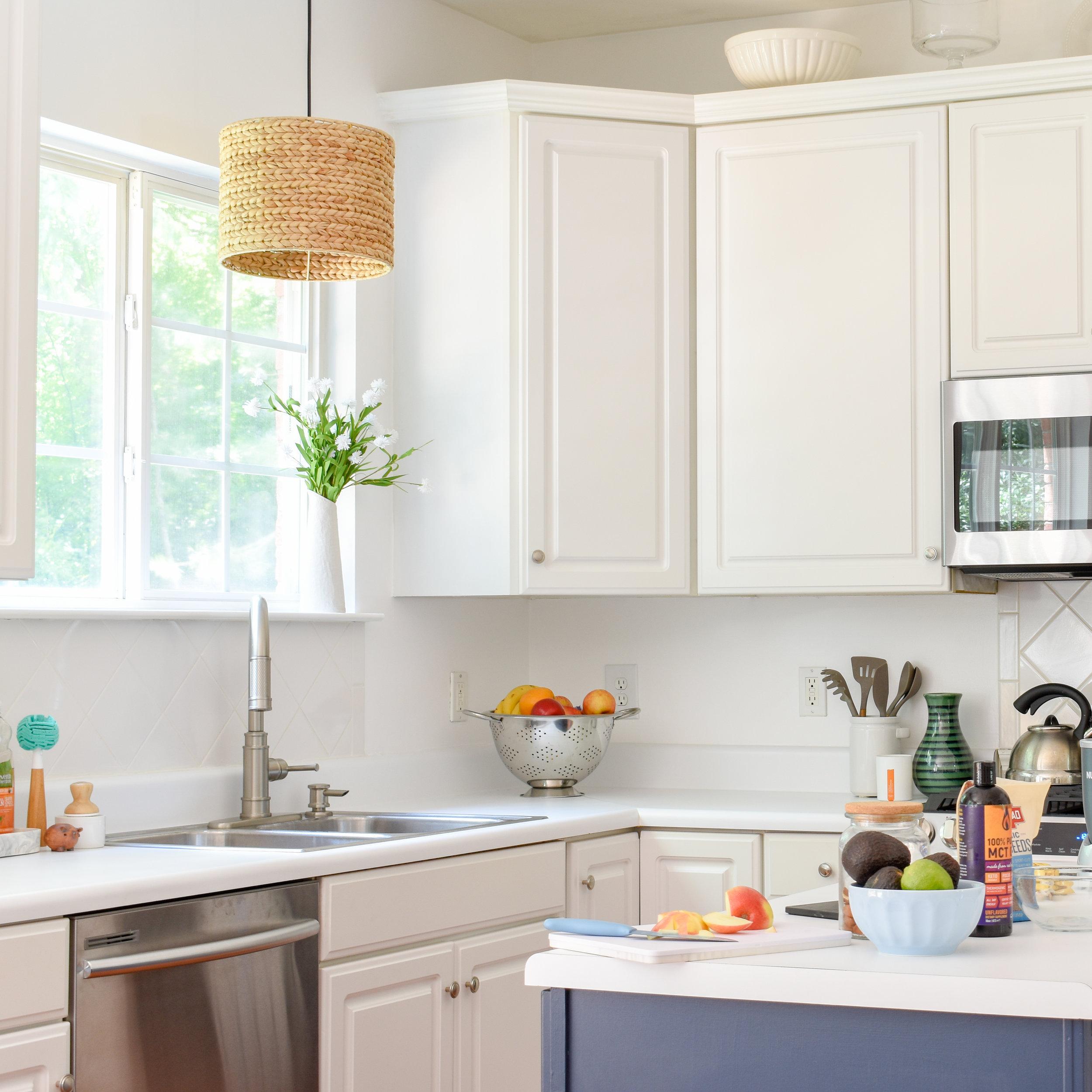 Colorful Summer Kitchen Updates