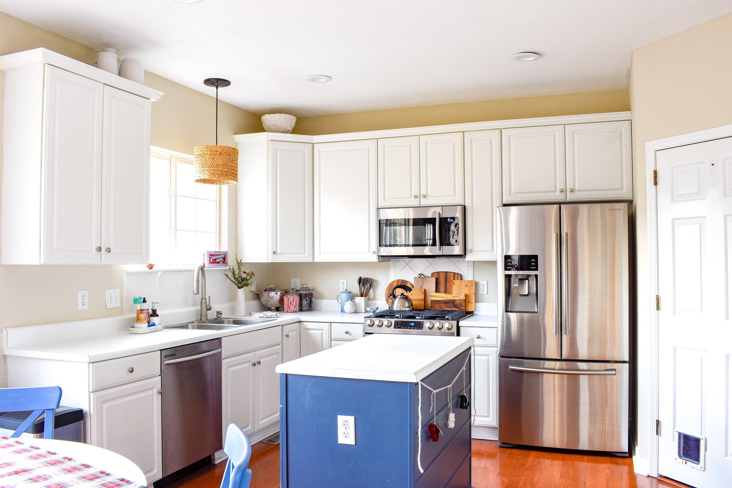 Winter Kitchen Updates - Our 2 year, slow process kitchen makeover.