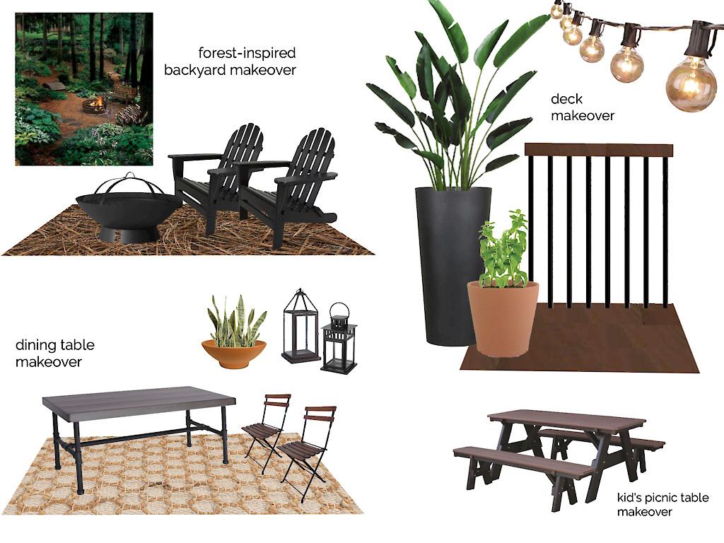 backyard makeover design
