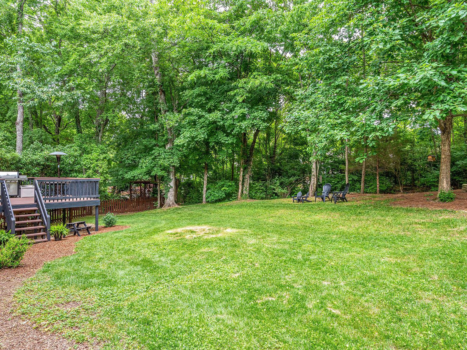 shaded backyard update - creating a forest feel in our small suburban backyard