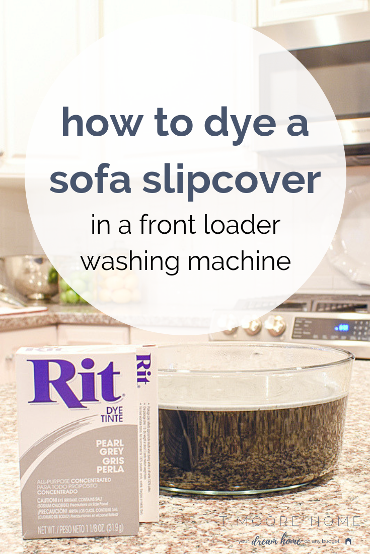 how to dye fabric in a front loader washing machine