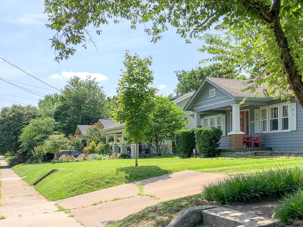 Our new neighborhood: Lockeland Springs, East Nashville, TN - A historic neighborhood with progressive vibes