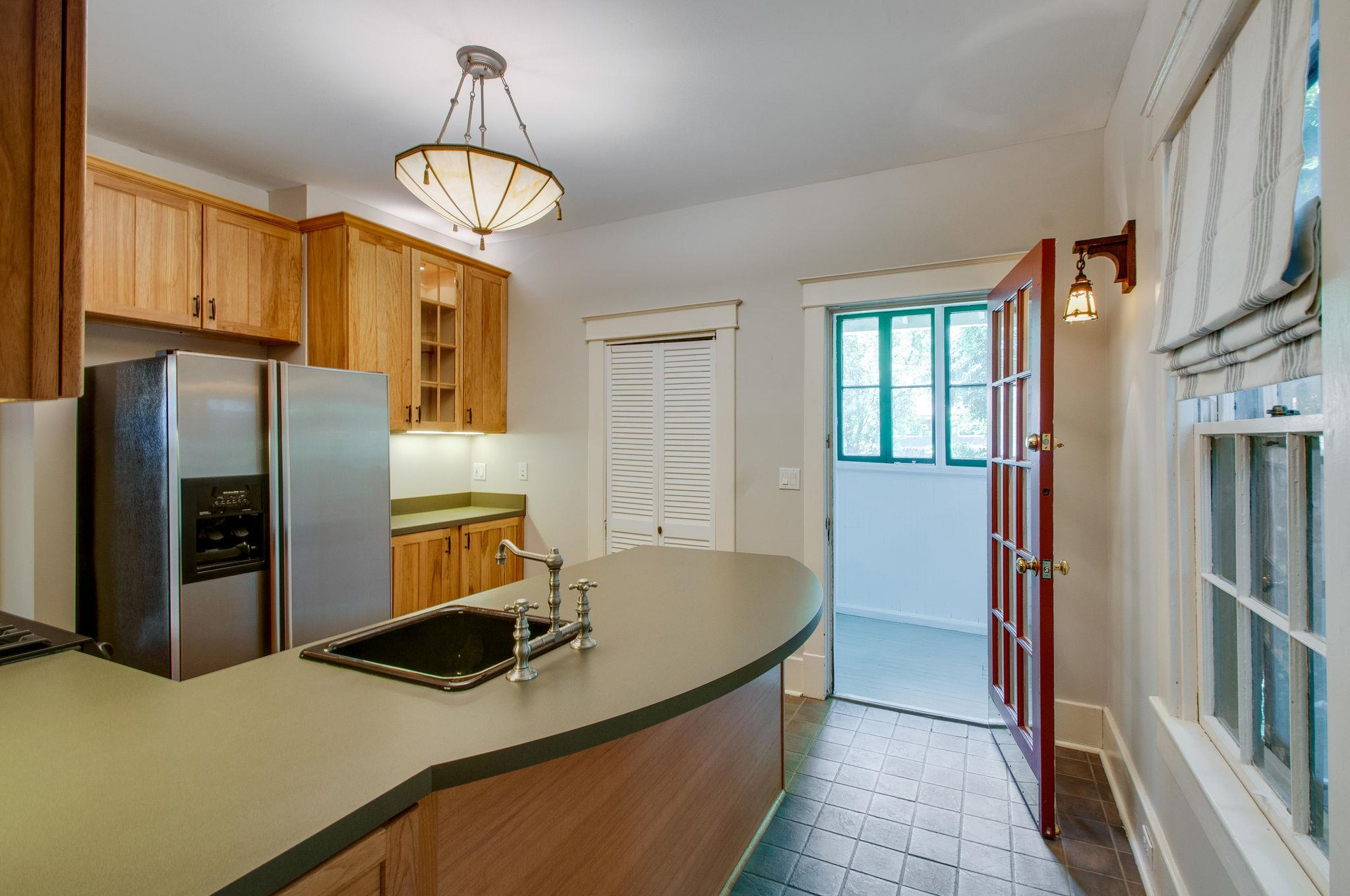Kitchen in our 1920s California Bungalow