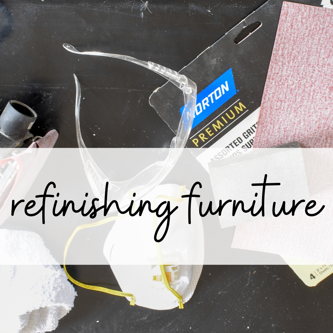 guide to refinishing furniture for a professional look