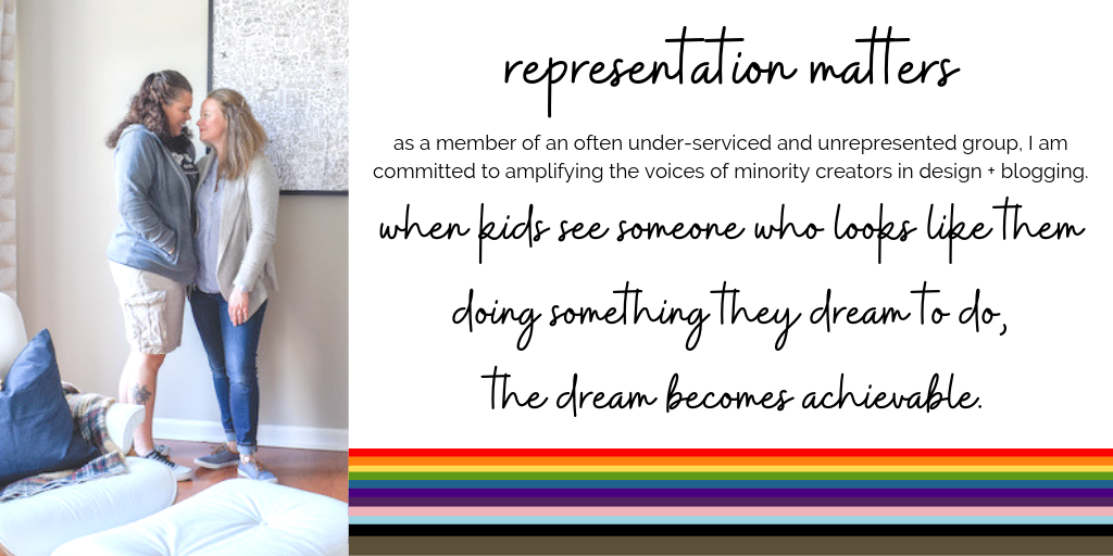 why I support representation in design and home decor blogging