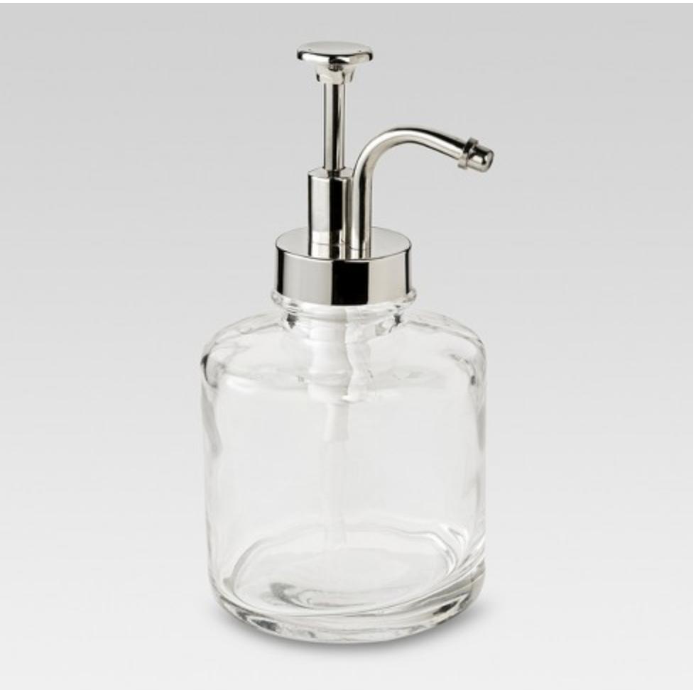 Glass Bottle Soap Dispenser