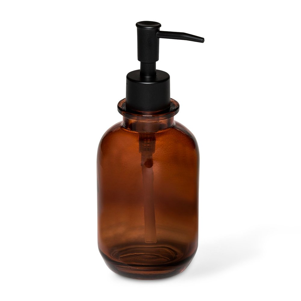 apothecary style soap bottle