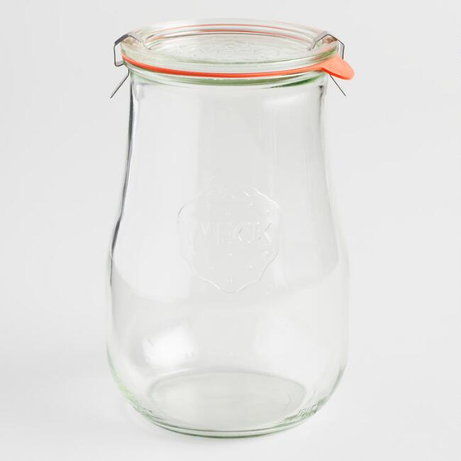 glass storage jars for laundry supplies