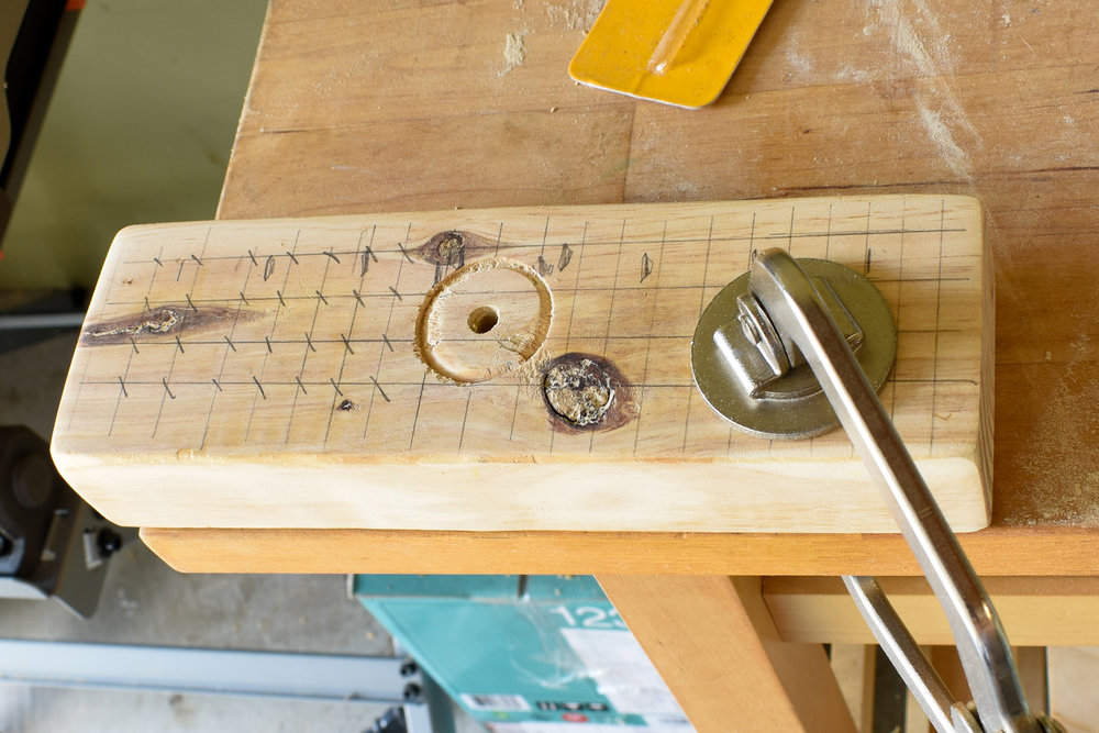 DIY WOOD BROOM: how to drill holes for your broom bristles