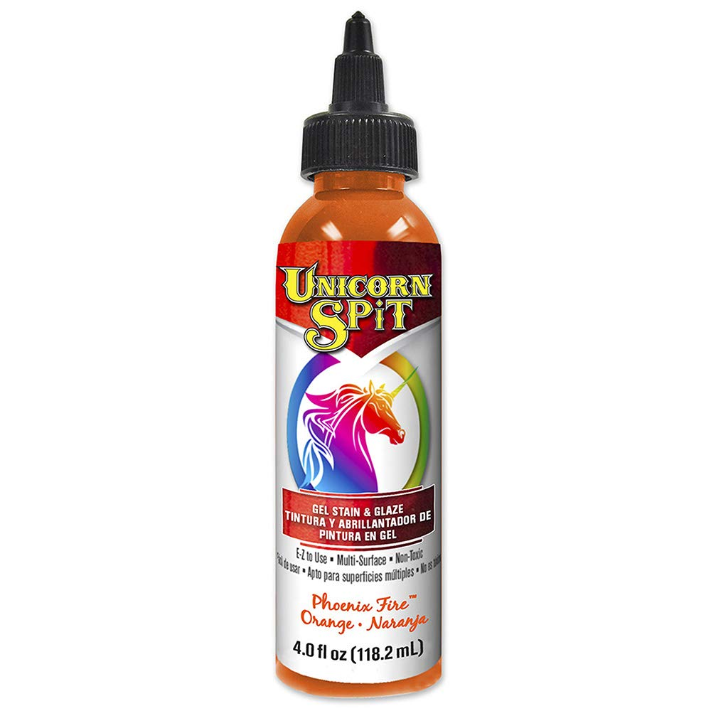 unicorn spit gel stain orange