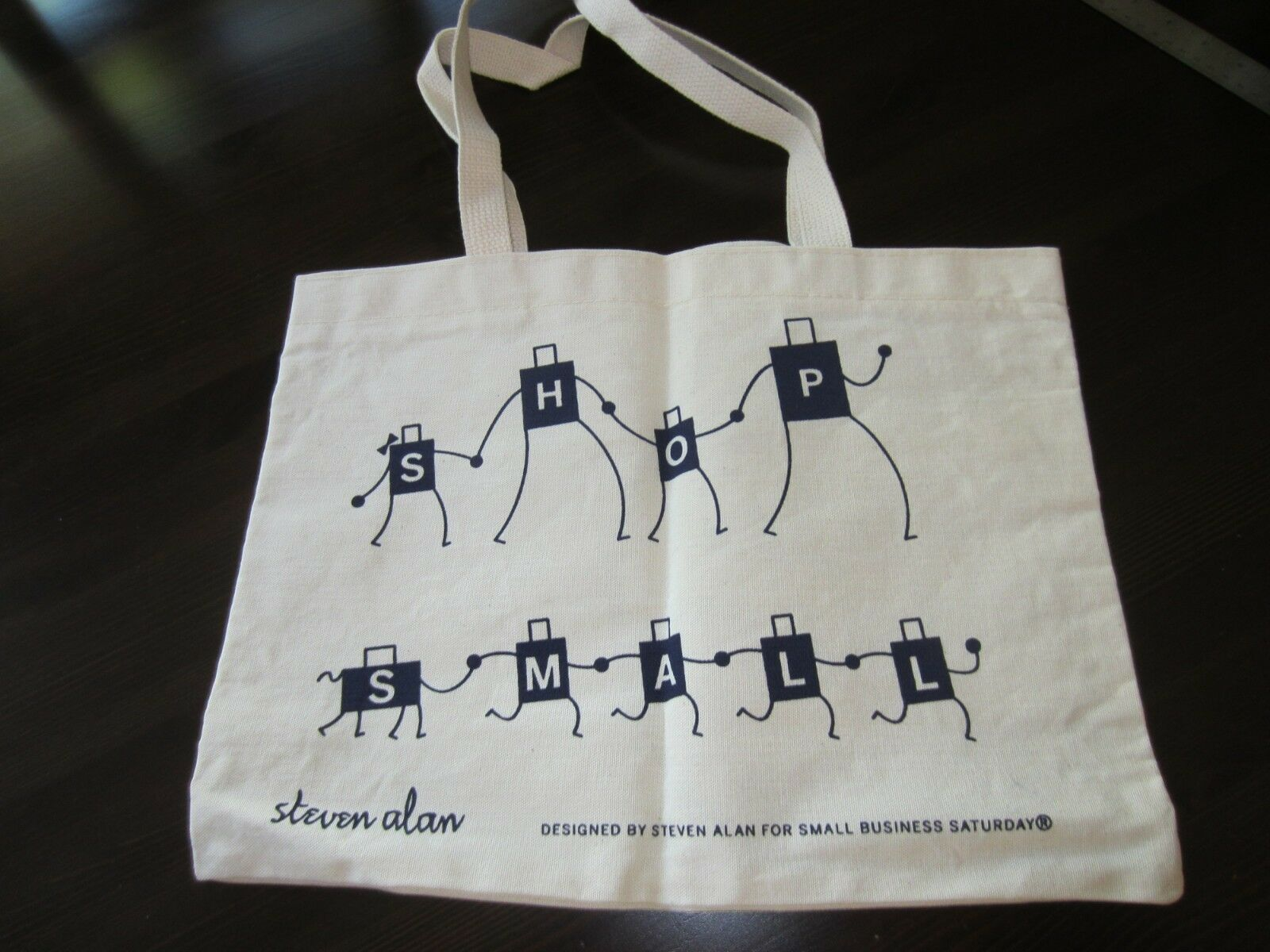 Steve Allen Design for American Express fabric tote bag