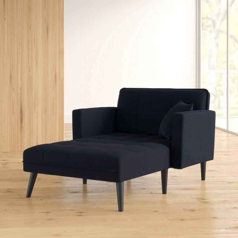 chaise lounge convertible sleeper