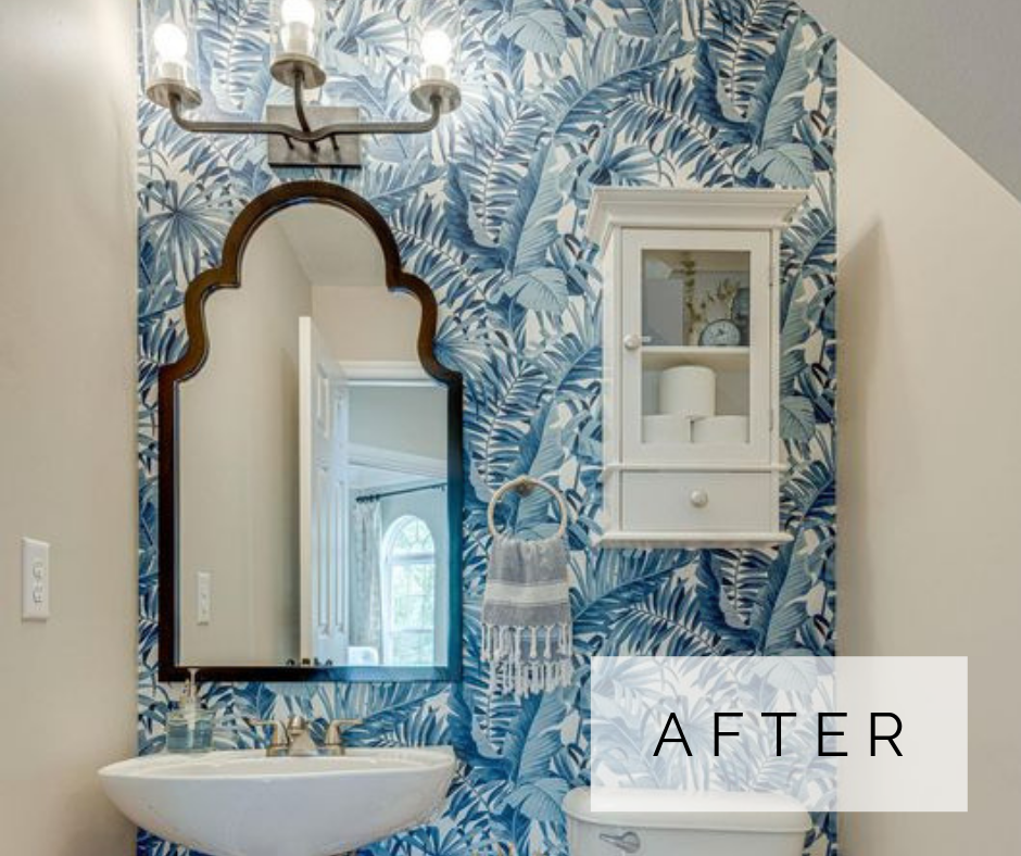 small powder room decorating ideas