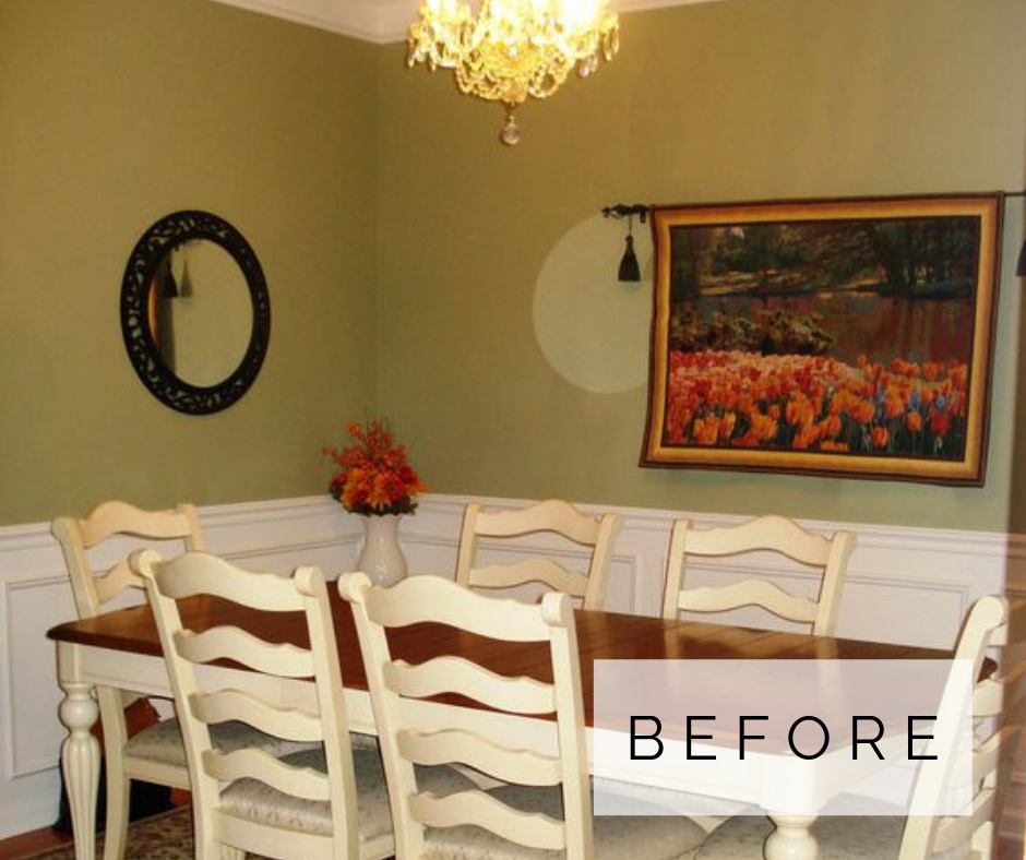 A SUBURBAN DINING ROOM MAKEOVER
