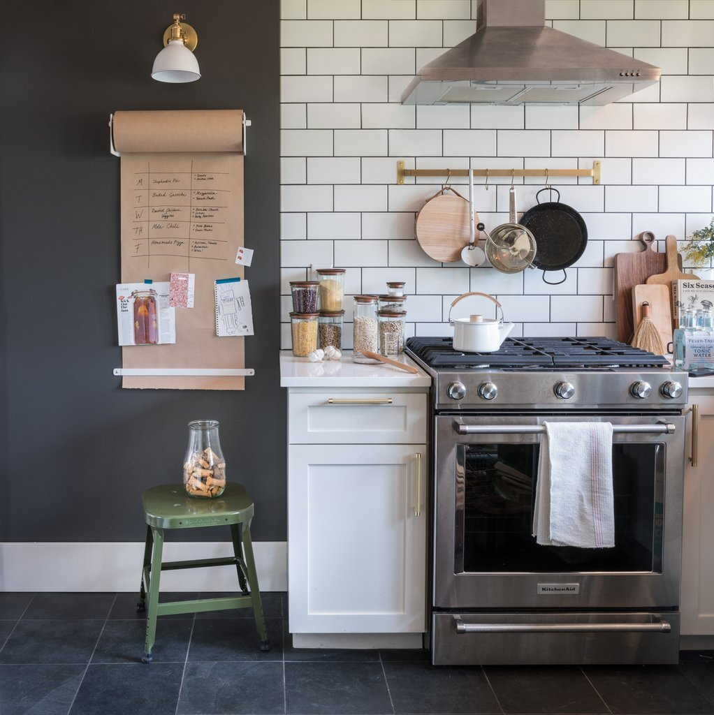 Schoolhouse Kitchen - The Home of Angela Medlin, as photographed for Schoolhouse Catalog 2019