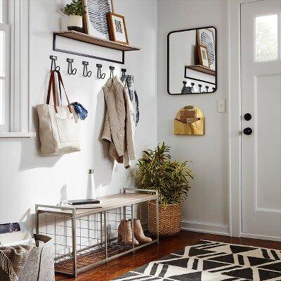 vintage style wall hooks
