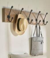 vintage wall hook rack