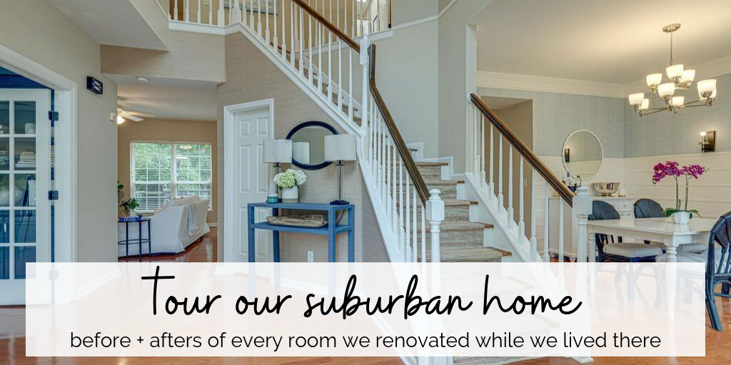 a boring suburban home gets a fresh remodel on a budget