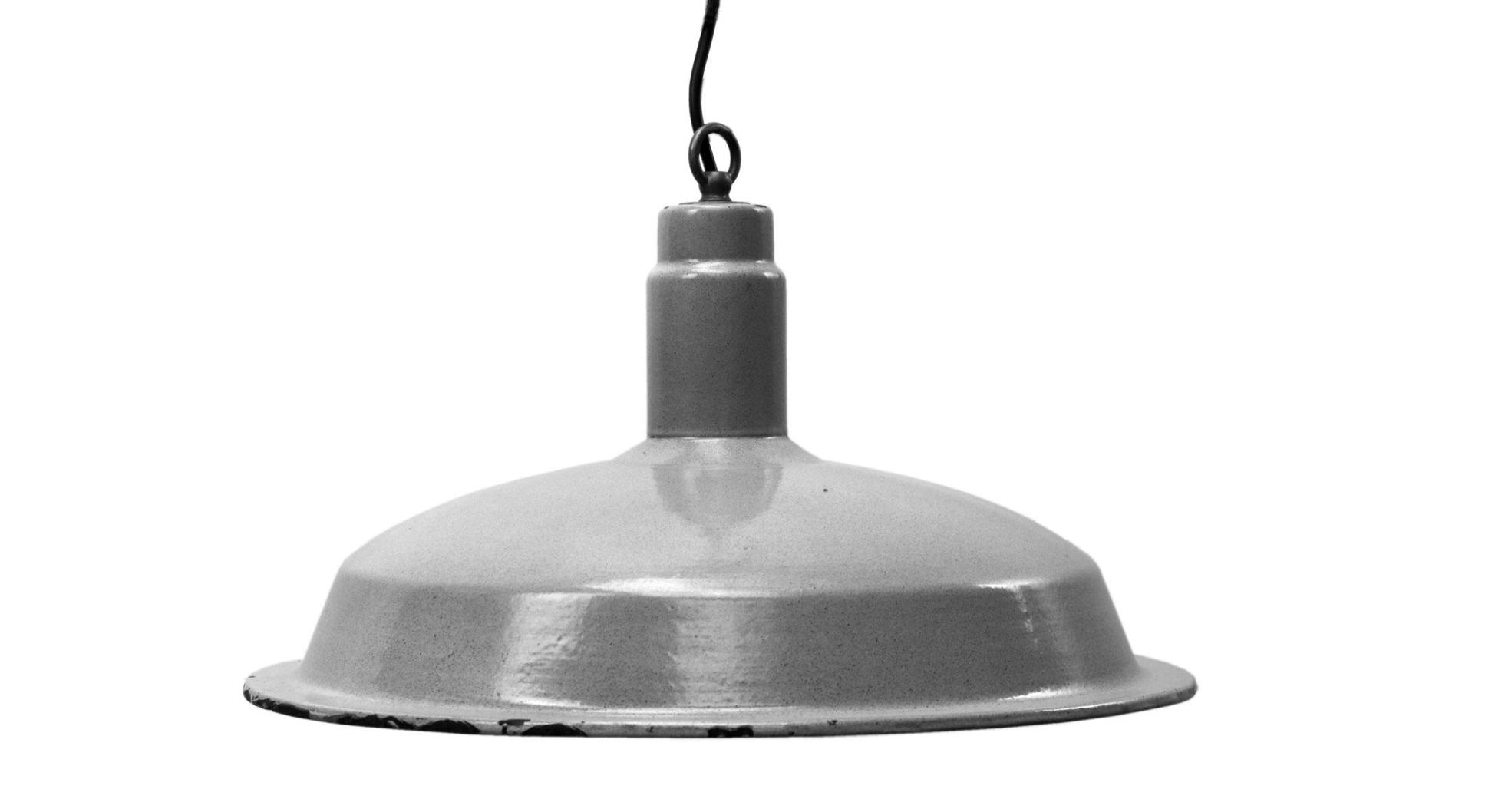 vintage factory pendant