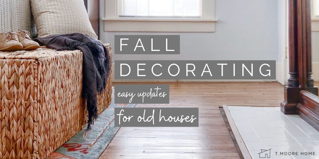 Fall Decorating Ideas for Old Homes