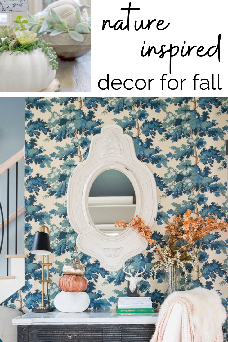 Fall Decor Ideas: Adding Seasonal Touches with Natural Accents - My home's color palettes are pretty reflective of the seasonal decor you'd find at any home store. For me, there's no reason to make sweeping changes to my decorating style.  #homedecor #falldecor  #interior123 #stylemuttspaces #ispymoderndiy #prettyandoverlooked #brightspaceswelove #collectedhome