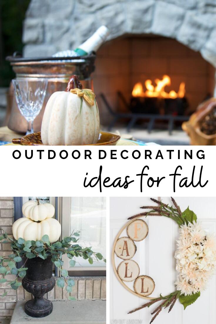 Fall Porch and Outdoor Decorating - Ideas for cozy seasonal vibes. #falldiy #falldecor #fallfeelings #cozyhomedecor #fallinspiration
