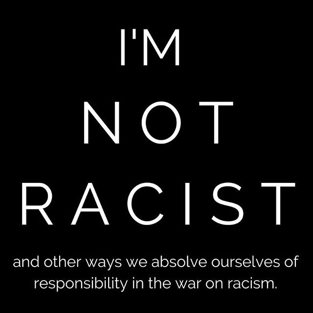 here are some of the ways I've been absolving myself of responsibility in the fight against racism through the years. when you read these, you will be defensive and that's okay. you will be tempted to argue with me and that's okay. I just ask that you sit with the ideas I'm presenting before you say anything you may come to later regret. it's part of doing the work. we're all here to do the work and the first step is to acknowledge the ways you've been resistant to the work in the past. from there, we can work together to change our mindsets and accept the perspectives of other people. if you have questions, I'm here. you can comment or you can DM me. please don't start arguments in the comments. let's work through this together. xoxo . . . . #stopracism #dothework #antiracisteducation #antiracism #learntogether