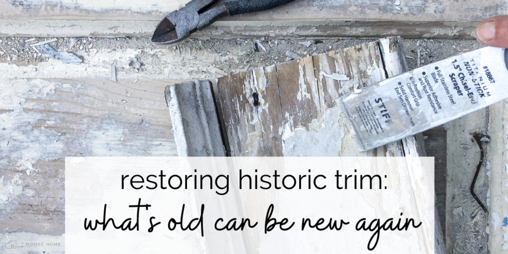 Restoring Historic Trim and Moulding