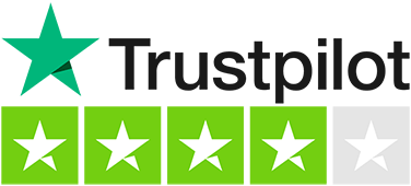 Rated great on Trustpilot