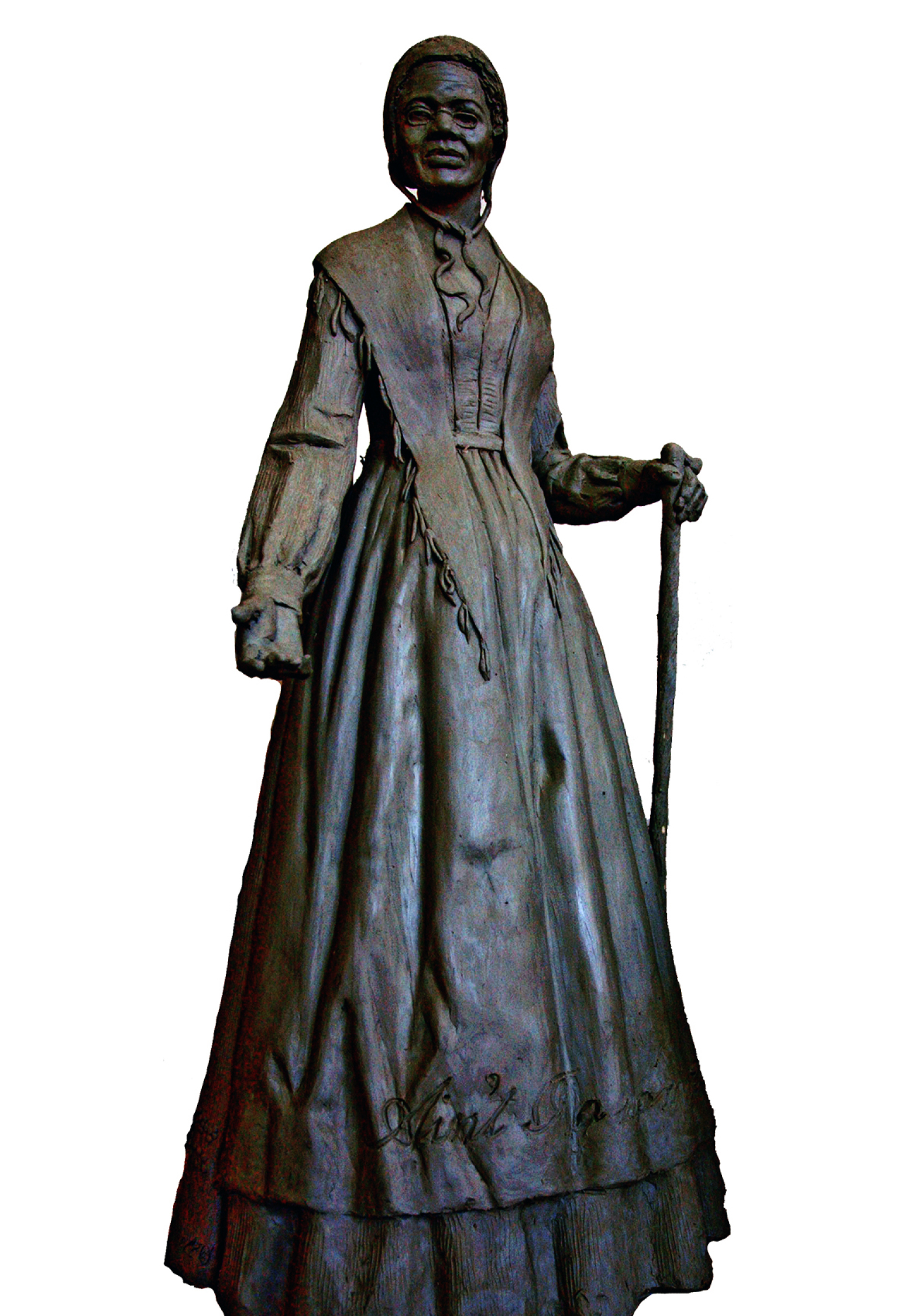 Rendering of the Sojourner Truth sculpture by Yonkers artist Vinnie Bagwell to be installed at the Walkway Over the Hudson in Ulster County
