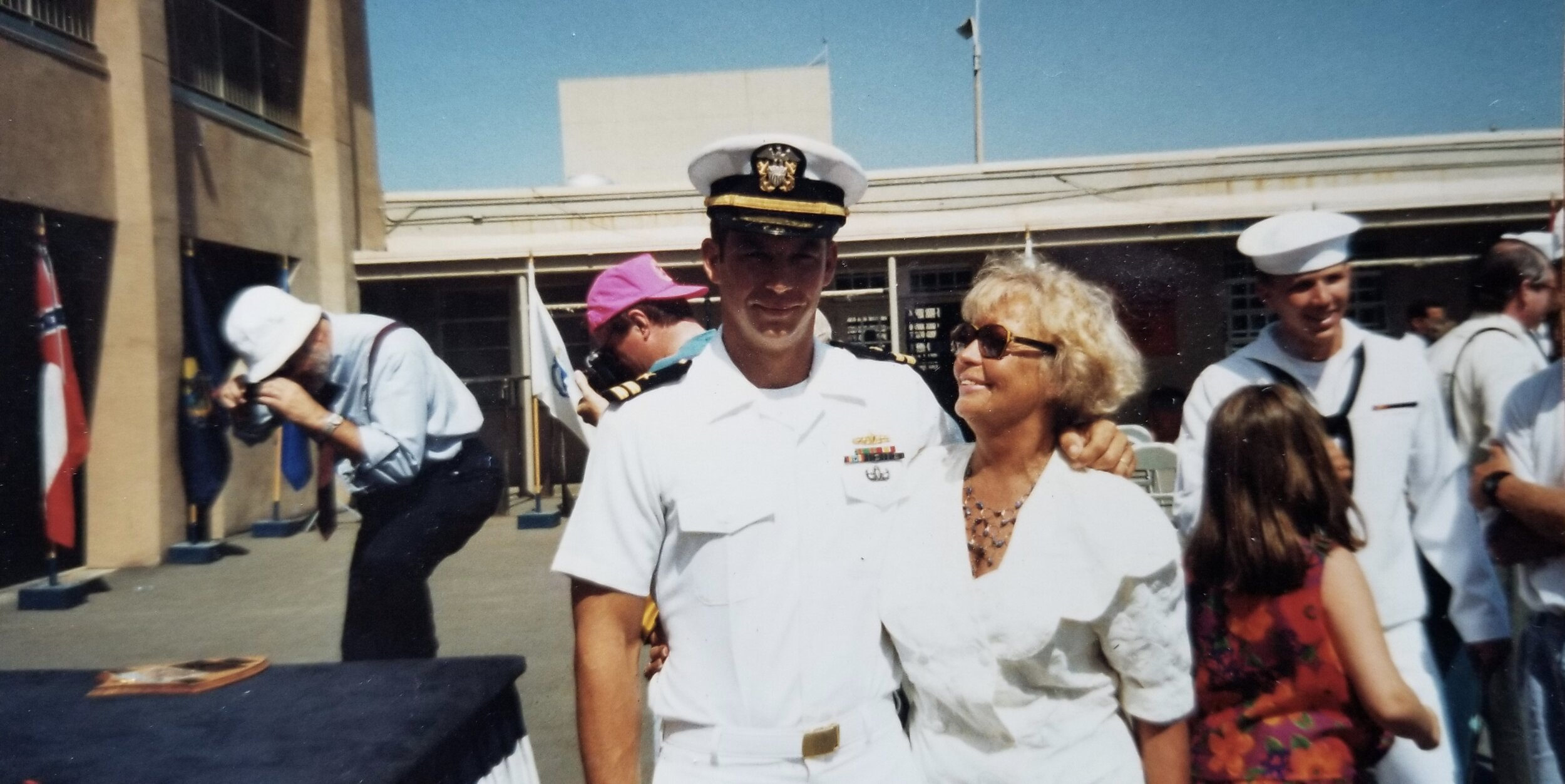 Tom and his mother, Patrena Rancich.  Courtesy photo.