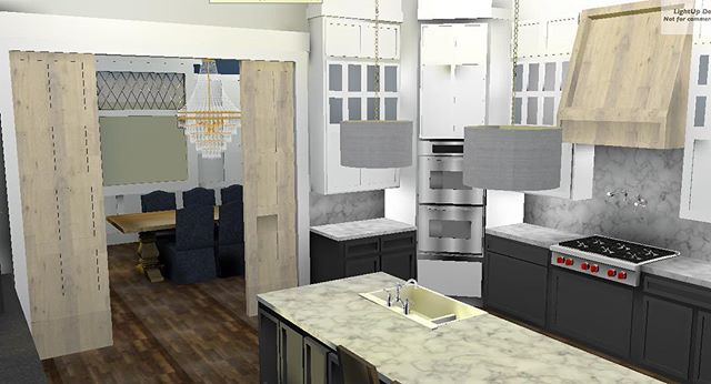 Lately this job never rests. Designing dream kitchens during the day  and dreaming of kitchen designs at night.