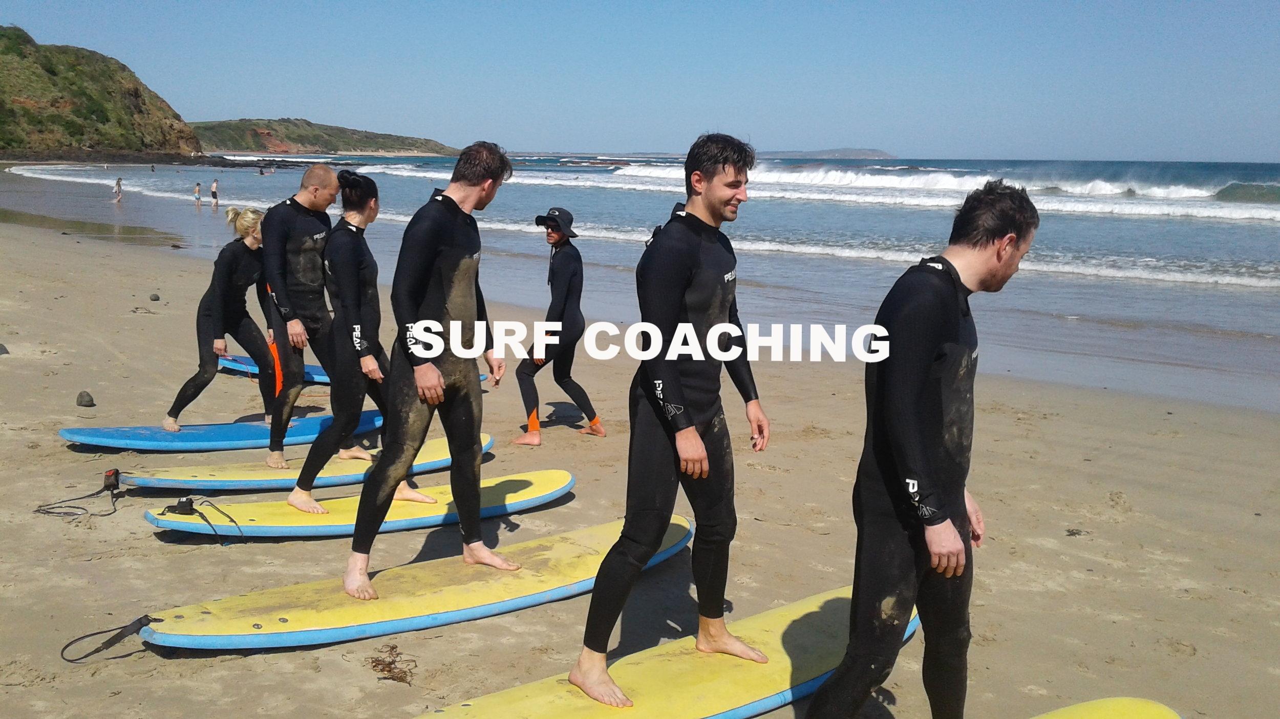 Surf Coaching Phillip Island