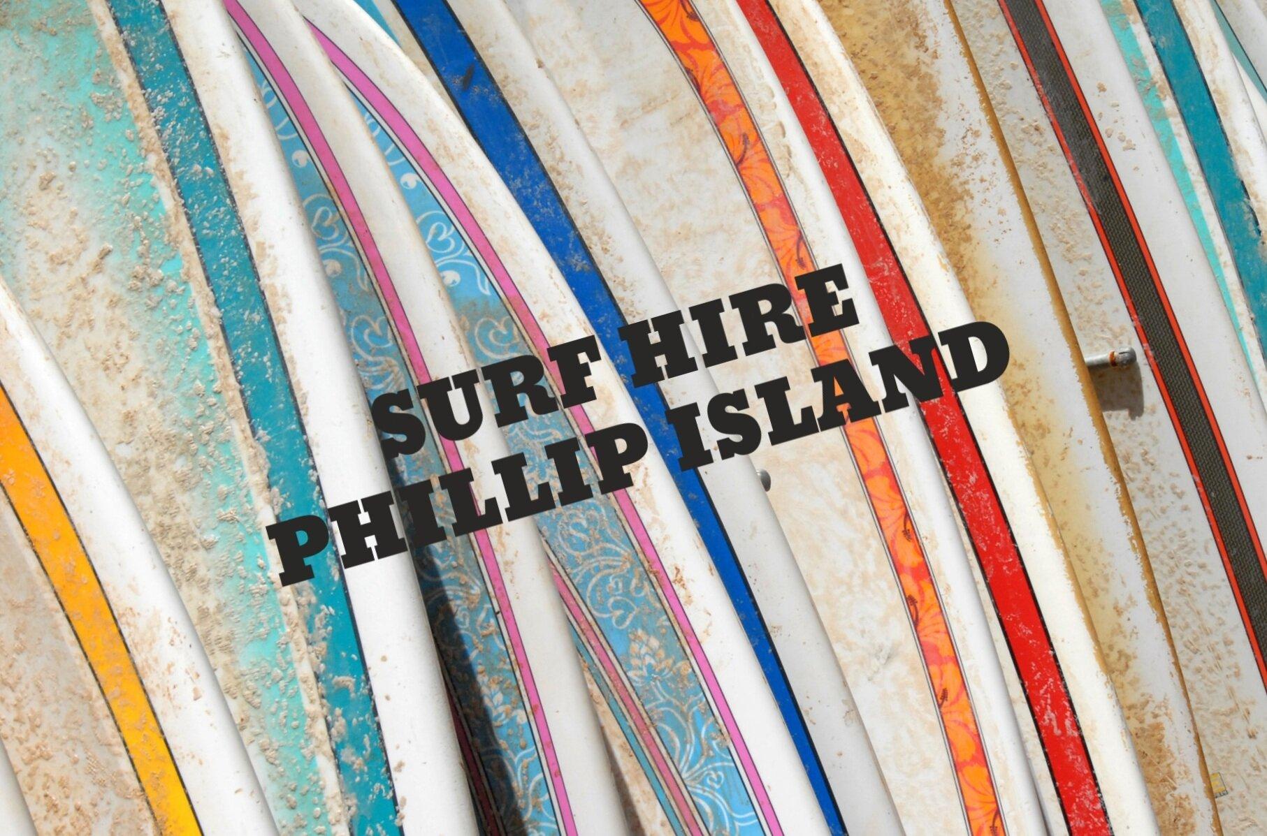 SURF+HIRE+PHILLIP+ISLAND