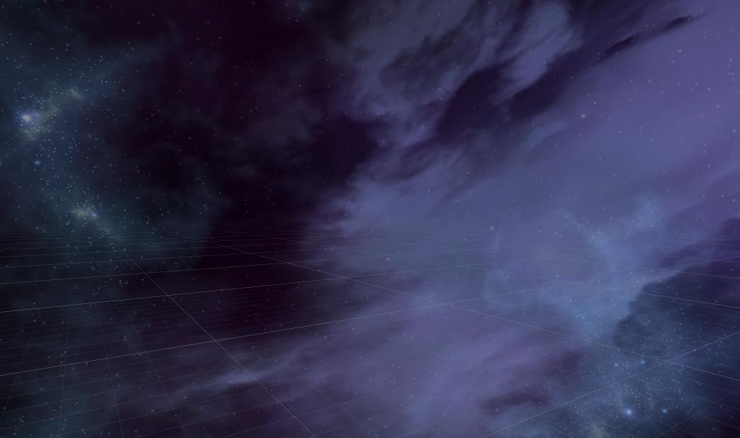 Blended skyboxes (blend value = 0.5)
