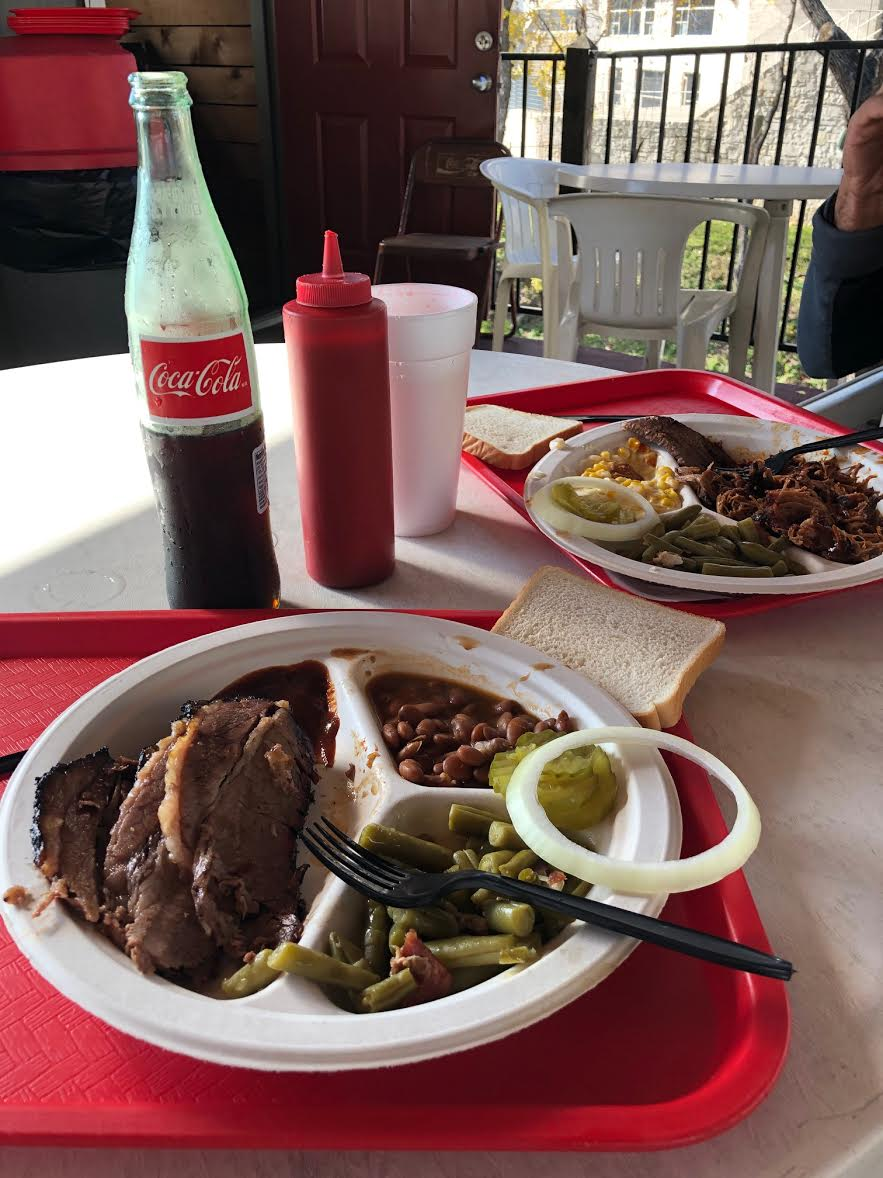 Texas BBQ and Mexican Coke