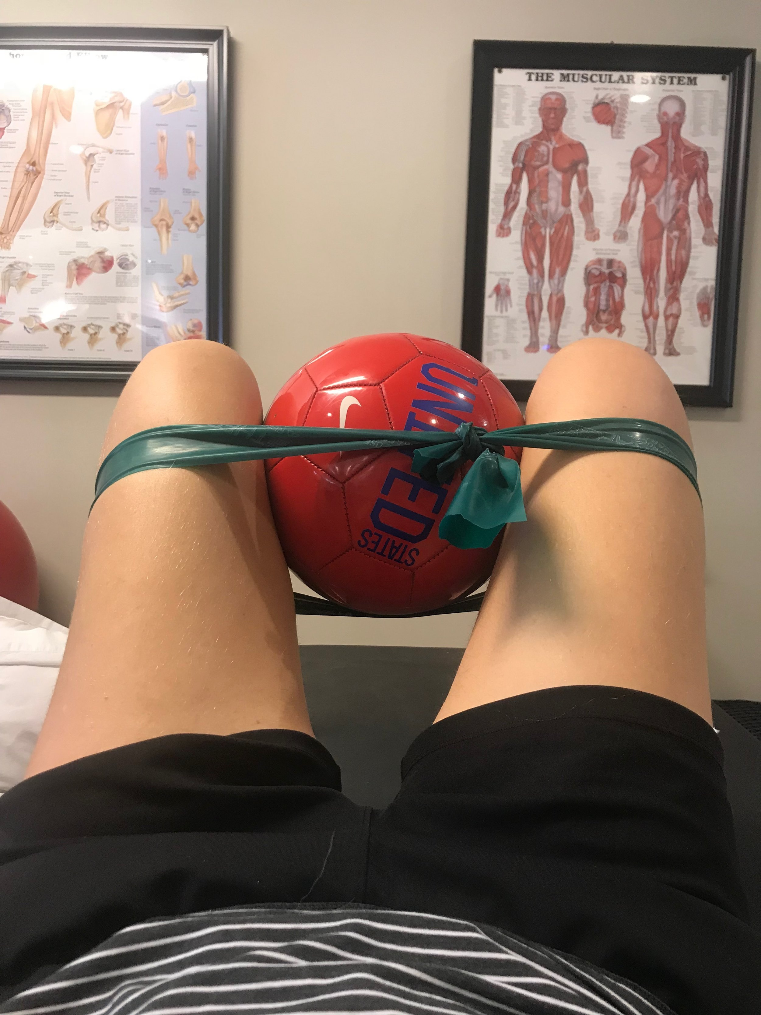 Cleared to start PT