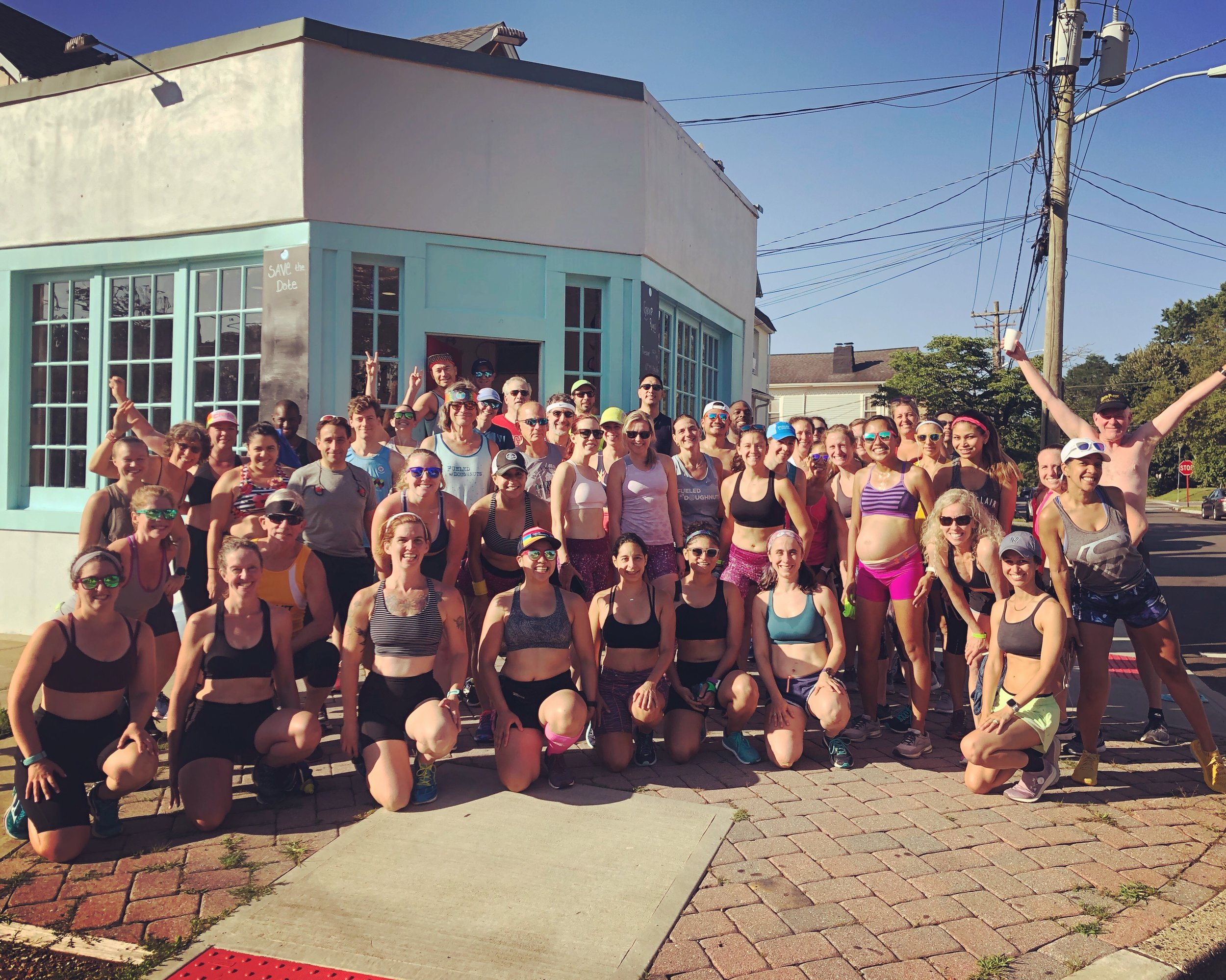 Yet another reminder of what an incredible community we are all a part of on this Sports Bra Squad Day!!!