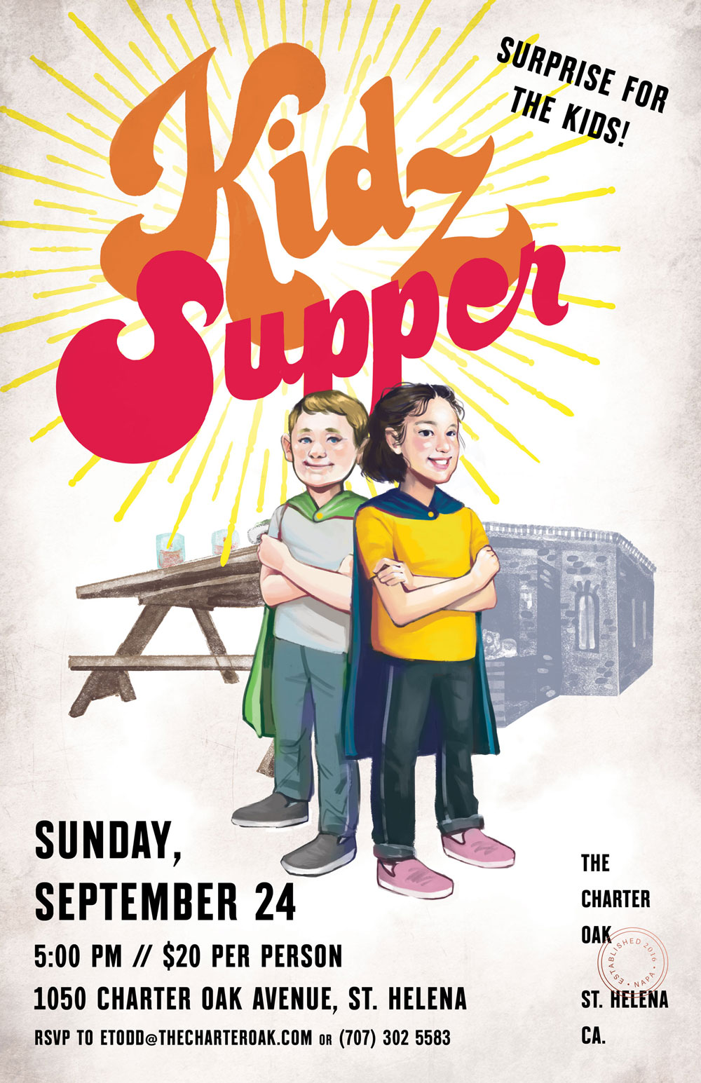 The Charter Oak Kidz Supper